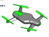 JuLin 3d printed drone copter quad